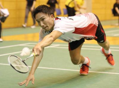 桃田選手の写真